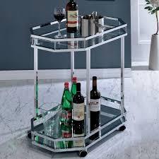 Distefano Contemporary Bar Cart