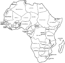 Small Picture Africa Coloring Map Coloring Coloring Pages