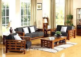 Wooden Sofa Furniture Design For Hall Excellent Buy Living Room