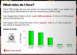 Results Graph Bar Chart Showing Five Top Risks To Life