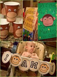 boy first birthday party monkey theme ideas | Monkey 1st Birthday Party \u0026 Printables! {Parties on a Budget}