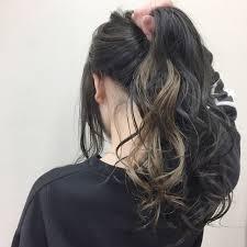 金色のインナーカラーがかわいいヘアスタイルまとめ Arine アリネ