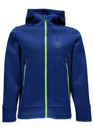 Spyder Jacket Size Chart Spyder Orbit Fleece Hoody Jacket