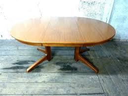 danish dining table extendable round expandable seats 12 ikea din