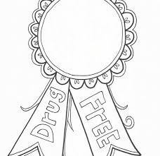 Red Ribbon Color Pages Red Ribbon Week Coloring Pages 618 600 Drug And Alcohol