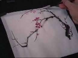 Plum Blossom <b>Chinese Painting</b> Tutorial (3 of 5) | <b>Chinese painting</b> ...