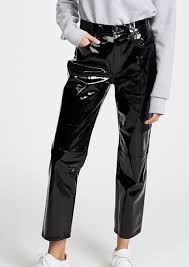 rag bone jean the straight patent leather pants