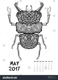 Small Picture May Coloring Calendar 2017ColoringPrintable Coloring Pages Free