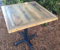 outstanding 27 best reclaimed wood restaurant table tops images on with regard to wood restaurant tables modern