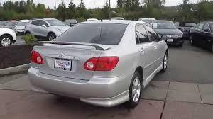 2004 Toyota Corolla, Silver - STOCK# 15-2300B - Walk around - YouTube