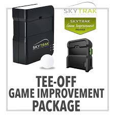 skytrak golf launch monitor simulator playbetter com skytrak tee off game improvement package includes