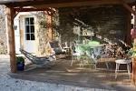Terrasse mobil home couverte classique - Biscabois