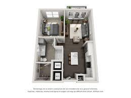 1 bed 1 bath a0 floor plan at marq on main lisle illinois
