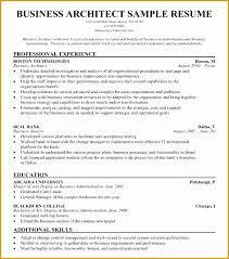 Enterprise Architect Resume Sample It Architect Resume Targer
