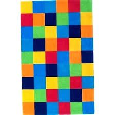 multi color block area rug colored bright rugs tufted color block tufted area rug