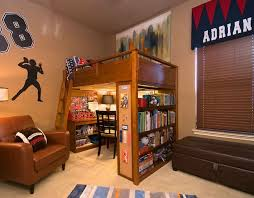 structure that supports the loft bed