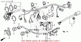honda cmx250c rebel 1985 f usa california wire harness buy wire view large image
