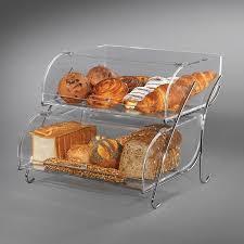 Acrylic Food Display Stands Rosseto BAK100 100Tier Countertop Bakery Display Case Wire Stand 65