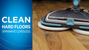 how to clean with your bissell spinwave cordless hard floor spin mop