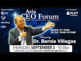 Dr. Bernie Villegas at the Asia CEO Forum 2020 - YouTube