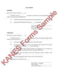 new jersey deed form basic oil gas sample forms and master index version 2