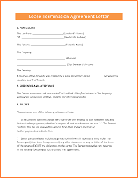 early termination of lease letter 7 early termination of lease agreement by landlord purchase