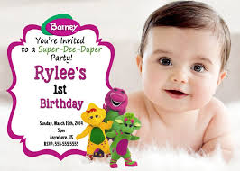 barney party invitation template colors editable barney birthday invitations plus barney 2nd