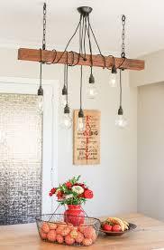 rustic vintage custom chandelier pendant