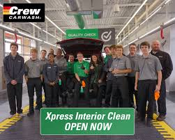 crew carwash opens exciting new innovation xpress interior clean