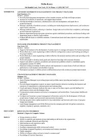 Pmp Resume Sample Project Management Project Manager Resume Samples Velvet Jobs 13