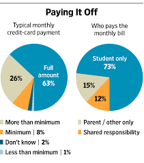should college students have their own credit cards wsj picking plastic
