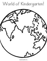 Small Picture Download Coloring Page Of The World