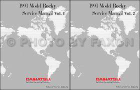 91 daihatsu rocky wiring diagram 91 wiring diagrams 1991 daihatsu rocky reprint repair manual 91 daihatsu rocky wiring diagram