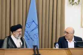 Image result for رئیسقوه قضائیه در دیدار وزیر اقتصاد و رئیسسازمان امور مالیاتی