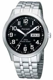 pulsar watches official uk retailer first class watches pulsar mens stainless steel analogue bracelet watch pxn181x1 2 reviews
