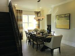 dining room chandeliers height dining room chandelier height from table should hang prepossessing double over size