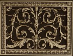 Decorative Return Air Vent Cover Decorative Grilles Beaux Arts Classic Products