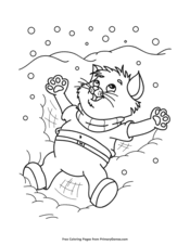 To print off the picture just click on the photo or link below it to access the pdf file. Winter Coloring Pages Free Printable Pdf From Primarygames