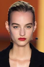 candy red lips for the spring isn t something that can be called innovative and yet spring runways were all about red apple looks that looked fresh