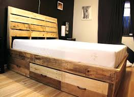 Diy Platform Bed Frame Build A Platform Bed Frame With Storage