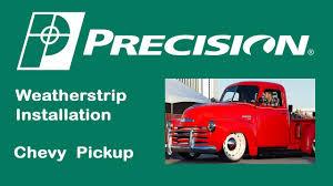 1947-1950 Chevy Truck Glass Run Installation - YouTube