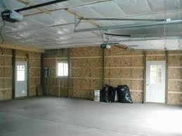 interior of vinyl sided garage sarver pa