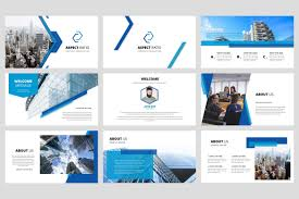 Corporate Powerpoint Design Aspect Corporate Powerpoint Template By Stringlabs