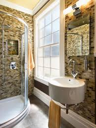 Great Bathroom Designs For Small Spaces Small Bathrooms Big Design Hgtv