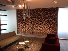 Small Picture Effigy of Unique Wood Wall Covering Ideas Interior Design Ideas