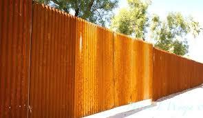 Rusty Fence Photo Keywords Rusty Fence Corrugated Rusty Chain Link