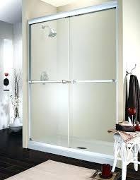 framed sliding glass shower doors attractive replacement sliding shower doors at glass door parts designs home