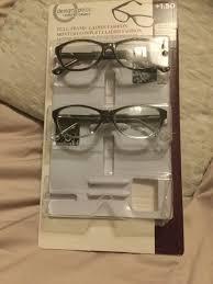 Design Optics Full Frame Flexible Plastic Design Optics By Foster Grant Ladies Full Frame 2 Pairs 1 50