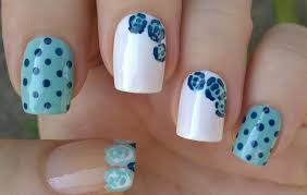 Life World Women: Polka Dot & Easy Dotting Tool Rose Nail Art