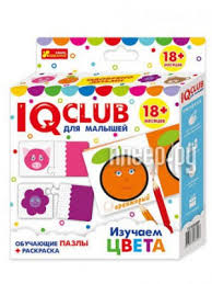 <b>Пазл Ranok Creative IQ</b> Club Изучаем цвета вид 1 13152030Р